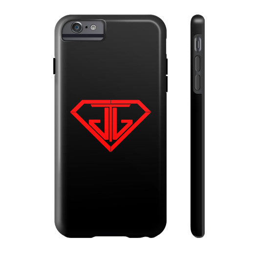 JTJ Blood Red Logo Phone Case Tough iPhone 6 Plus - Jain The Jeweler