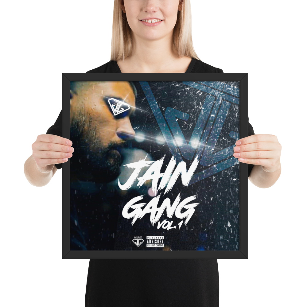 JAIN GANG: VOLUME 1 - Album Cover Framed Poster