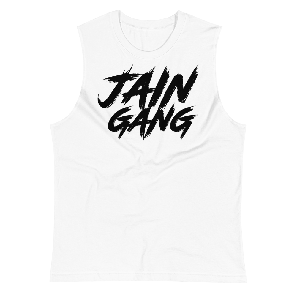 JAIN GANG JTJ Logo Workout Tank Top Shirt