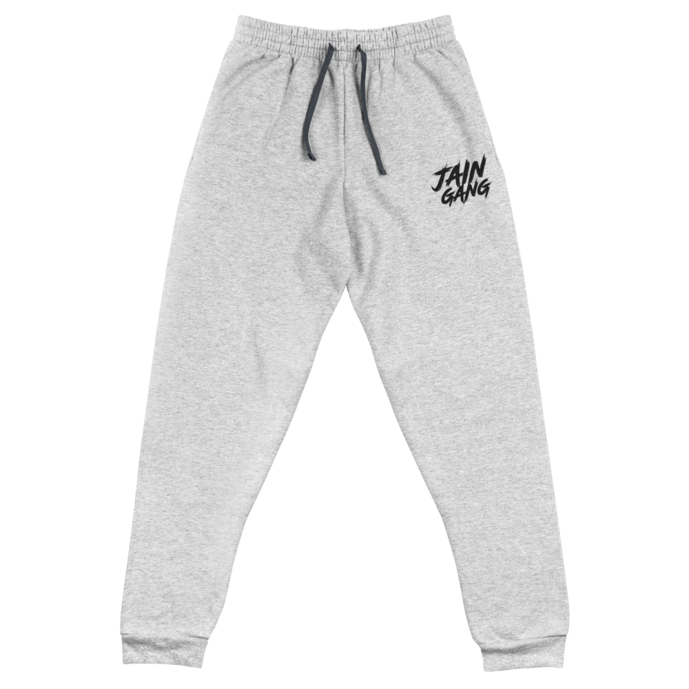JAIN GANG Logo Embroidered Unisex Joggers