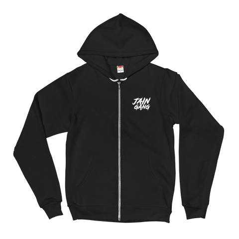 JAIN GANG Logo Embroidered Hoodie sweater