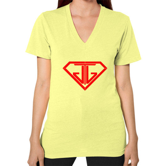 V-Neck (on woman) Lemon - Jain The Jeweler