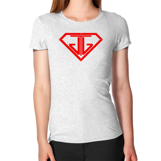 Women's T-Shirt Ash grey - Jain The Jeweler