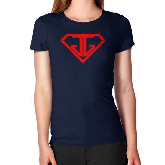 Women's T-Shirt Navy - Jain The Jeweler