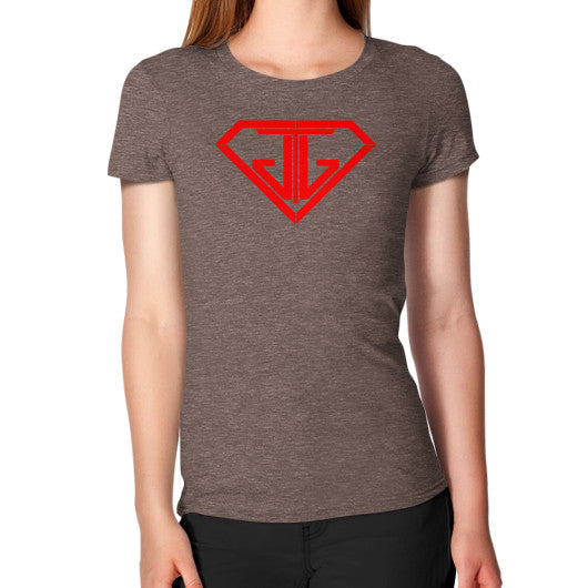 Women's T-Shirt Tri-Blend Coffee - Jain The Jeweler