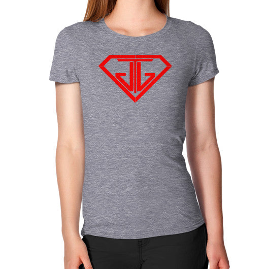Women's T-Shirt Tri-Blend Grey - Jain The Jeweler