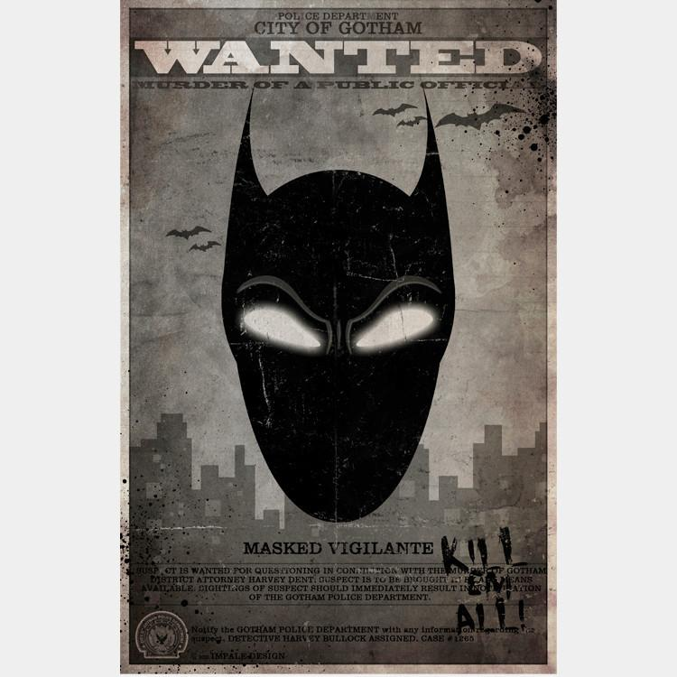 WANTED: Masked Vigilante - BULK - Thirteenth Floor