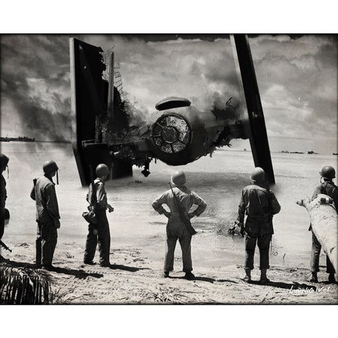 Crash Landing- Canvas