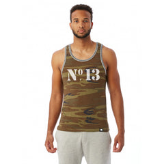 No.13 Camo Tank Top - Thirteenth Floor