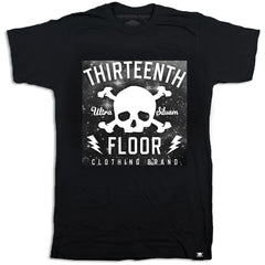 Skull & Bones Galaxy T-shirt - Thirteenth Floor