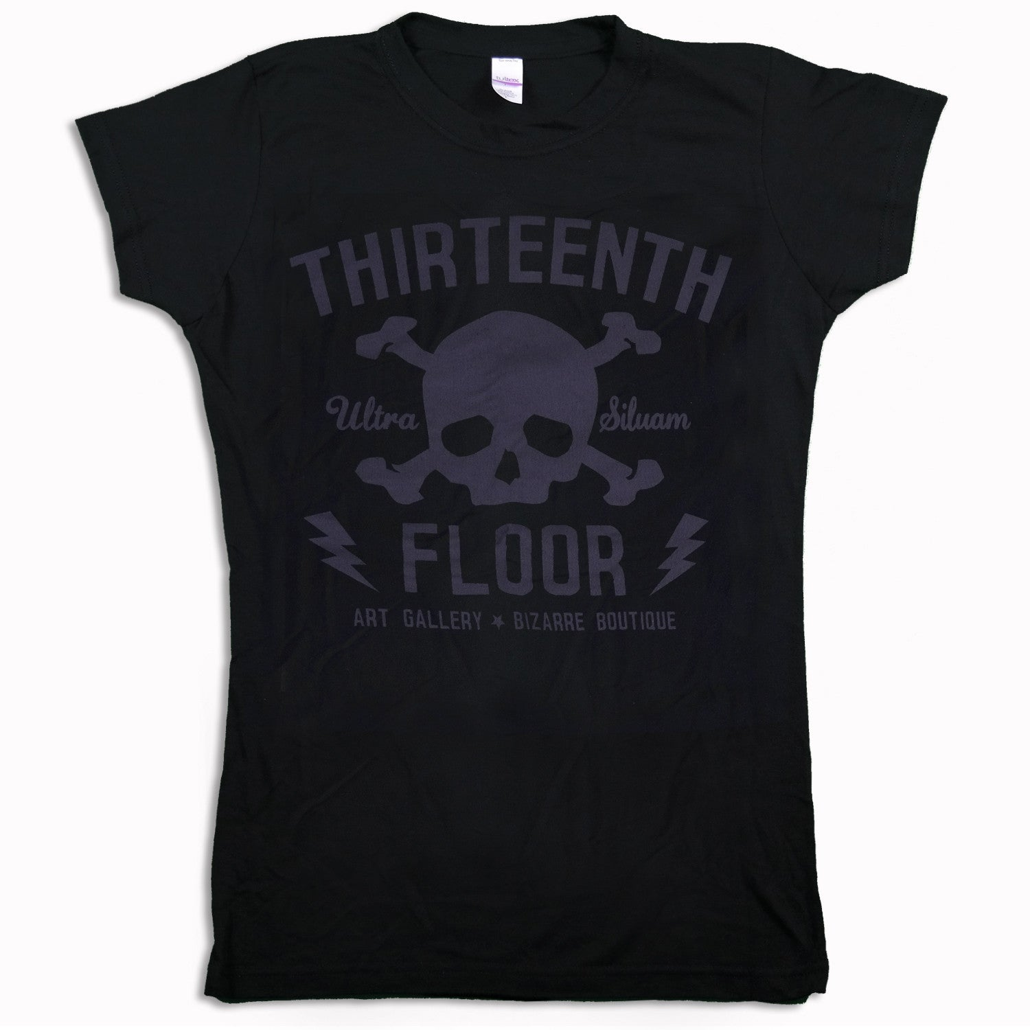 Skull & Bones (Lava Rock) Women's T-shirt - Thirteenth Floor