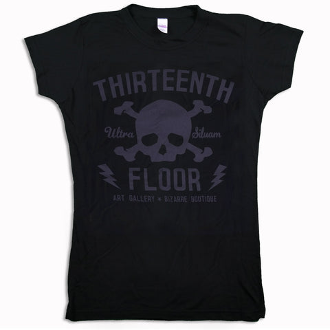 Skull & Bones (Lava Rock) Women's T-shirt