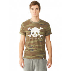 Skull & Bones Camo T-shirt - Thirteenth Floor