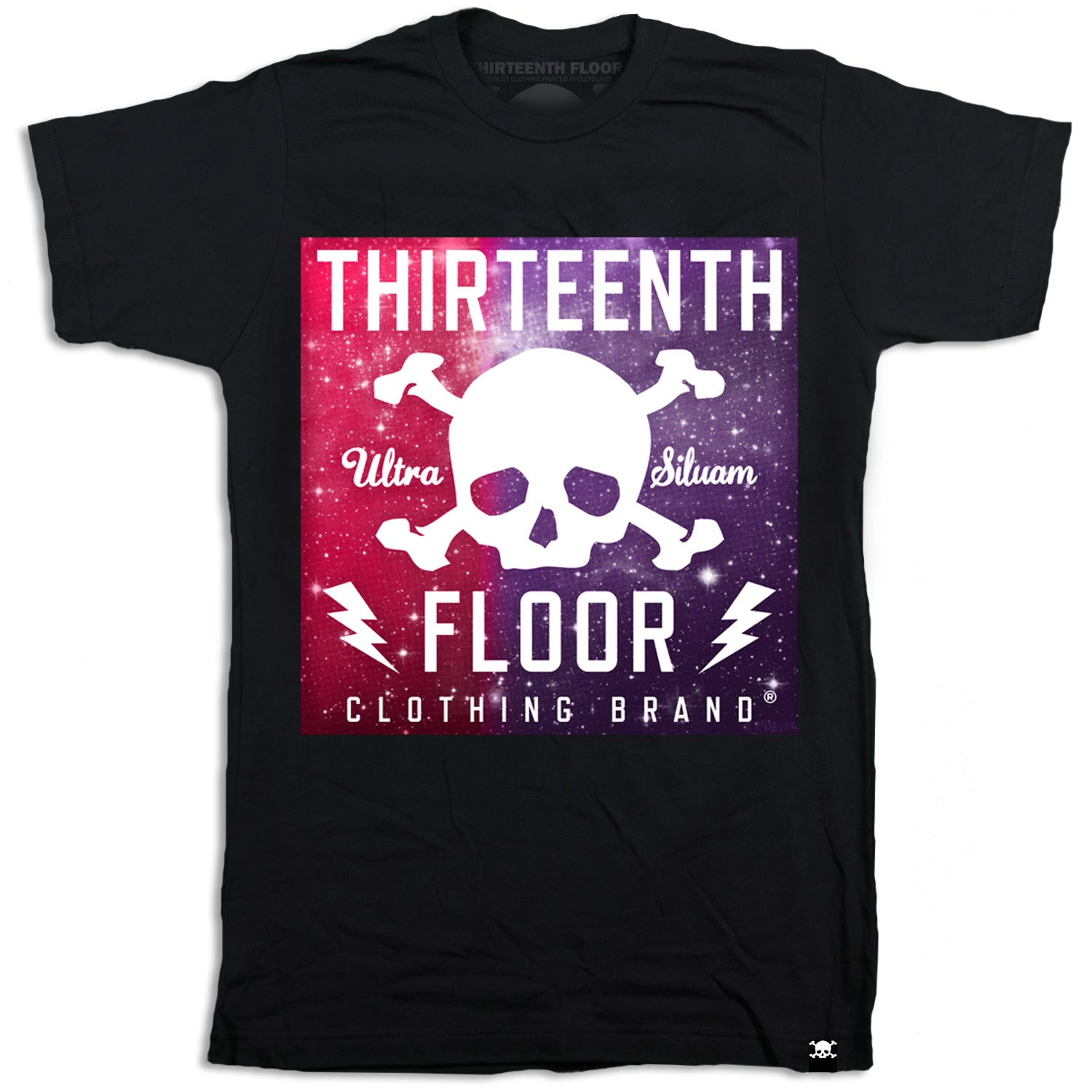 Skull & Bones Purple Galaxy T-shirt