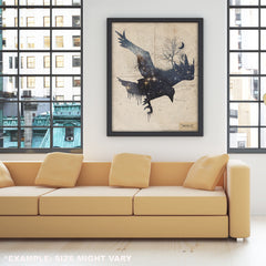 Space Raven - Fine Art - Thirteenth Floor