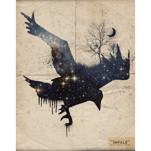 Space Raven - Canvas