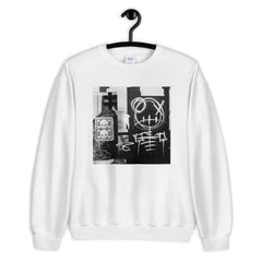 Skeleton Street Art Sweatshirt