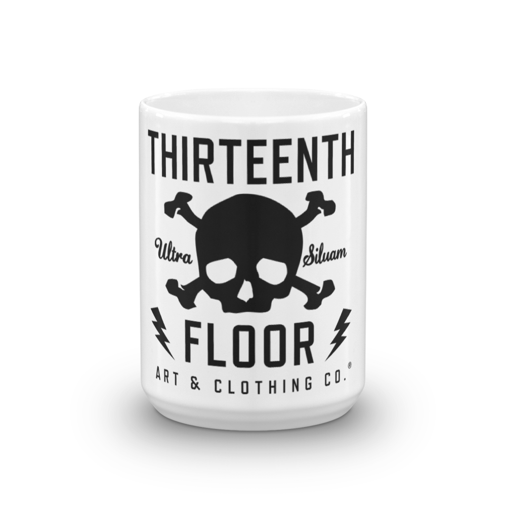 Thirteenth Floor Skull & Bones Coffee Mug