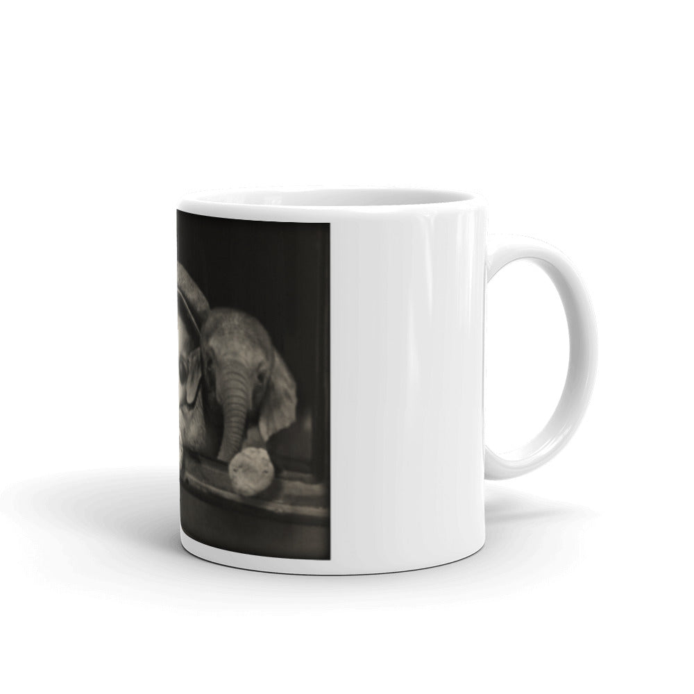 Adam's Elephant Coffee Mug