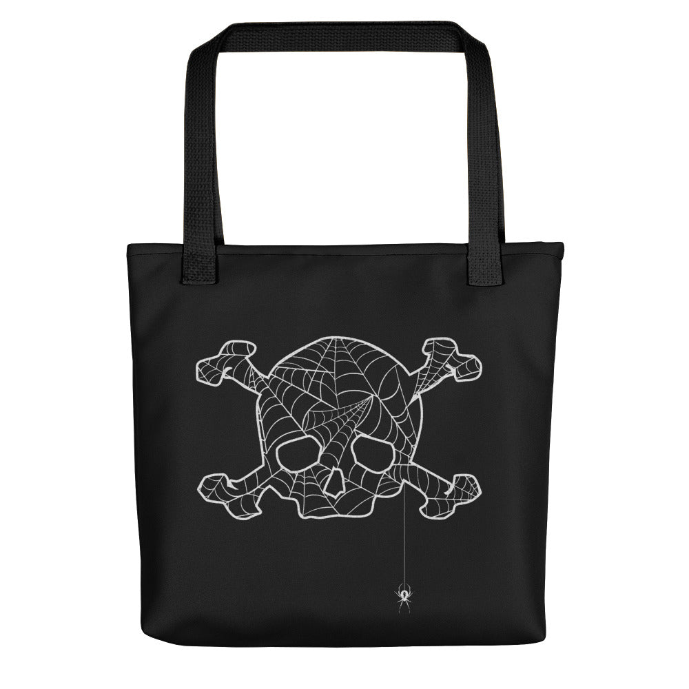 Skull & Bones Tangled Web Tote bag