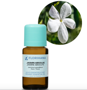 Jasmine Absolute Essential Oil | Organic | 2g (5.65ml) - Petal and Stem