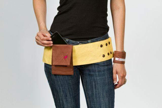 Reversible 4 Pocket Coffee Bean Hip Hugger - Petal and Stem