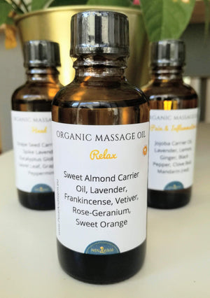 Set of 3 Massage Oils | 1.7 fl oz/ 50ml - Petal and Stem