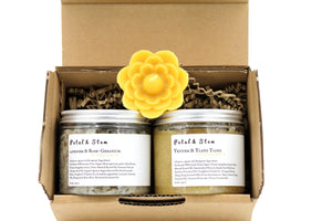 Body Scrub: Vetiver & Ylang Ylang | vegan | 100 % ORGANIC | cruelty free | zero toxins | 225g - 8oz - Petal and Stem
