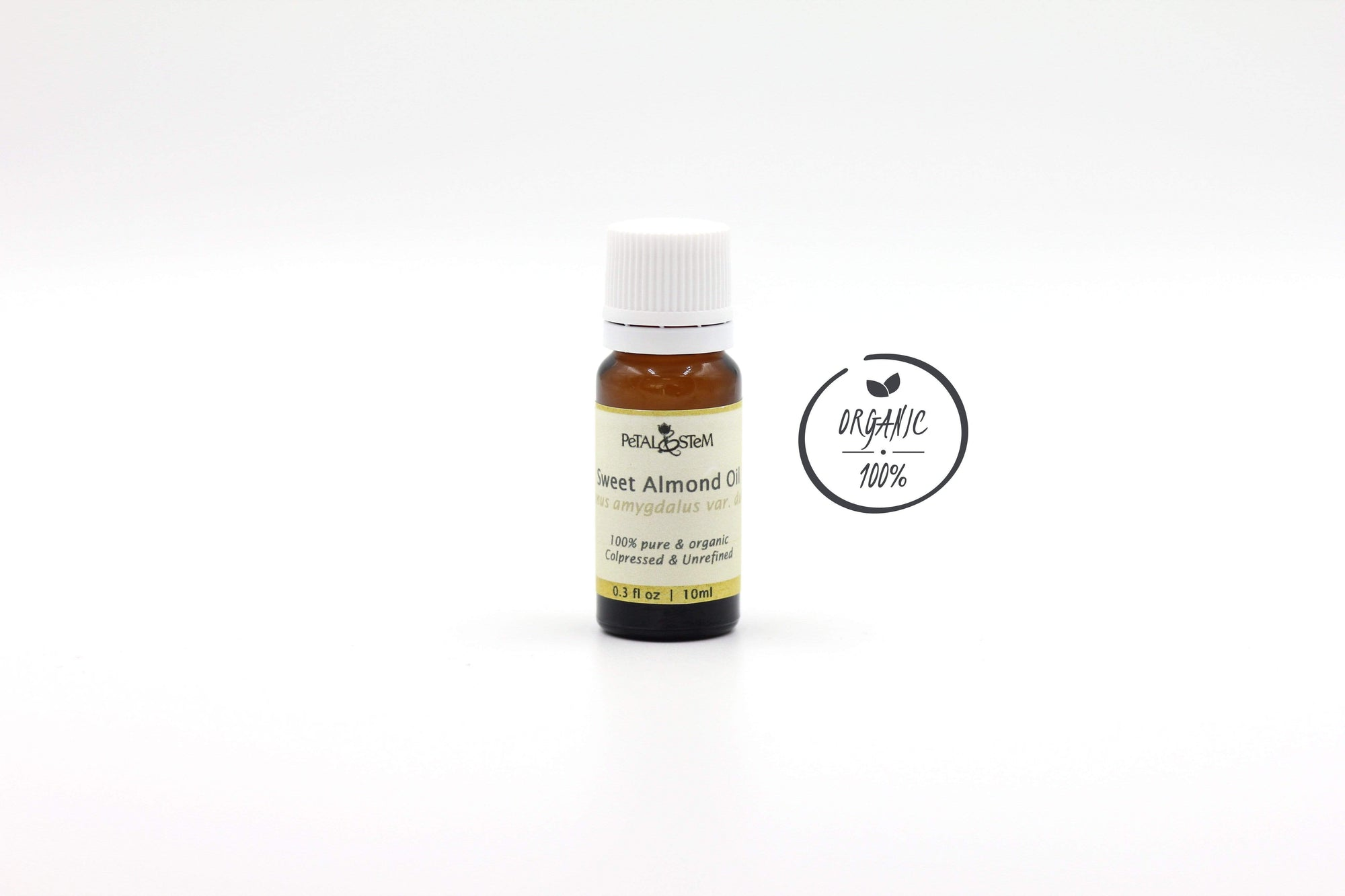 Almond Carrier Oil (Sweet), Organic - Petal and Stem