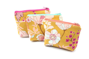 Bliss Essential Oil Bag, Travel Bag Set, Cosmetic Cotton Bag, Holiday Gift, Gift for Her - Petal and Stem