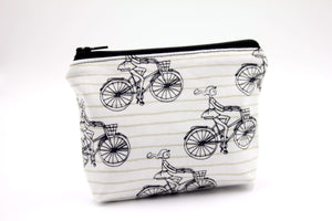 Cycling Essential Oil Bag, Travel Bag Set, Cosmetic Cotton Bag, Holiday Gift, Gift for Her - Petal and Stem