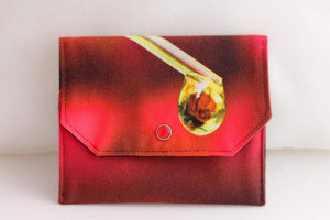 Essential Oil Bag (small) Oil Drop Photography - Holds your most important oils - Petal and Stem