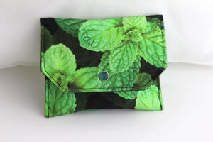 Essential Oil Bag (small) Peppermint Photography - Holds your most important oils - Petal and Stem