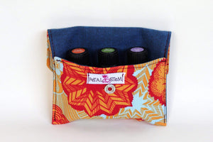 Essential Oil Bags Sea Star (small) - Carry Your Essential Oils In Style - Petal and Stem