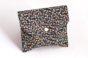 Essential Oil Bags (small) - Brown Calm Dots Design - Petal and Stem