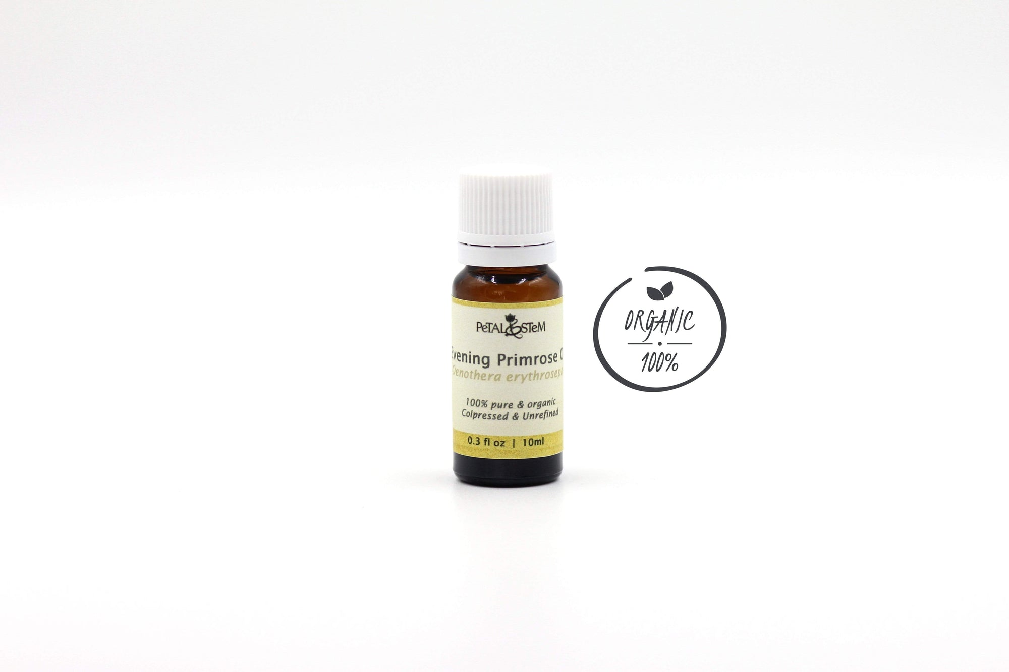 Evening Primrose Carrier Oil, organic - Petal and Stem