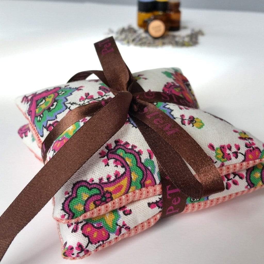 Organic Lavender Sachet - French Pink - Petal and Stem
