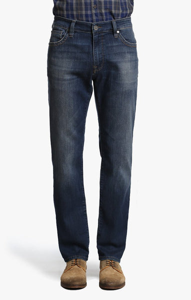 34 Heritage Courage Straight Leg Vintage Wash Soft Denim Jeans