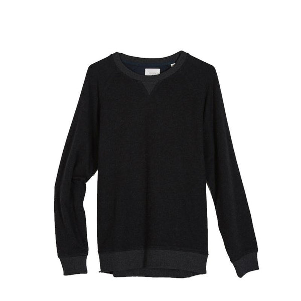 Billy Reid Terry Crew Neck Cotton Cashmere Sweater