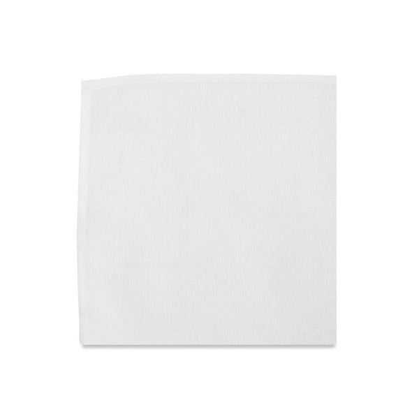 PSC The Ellington White Pocket Square