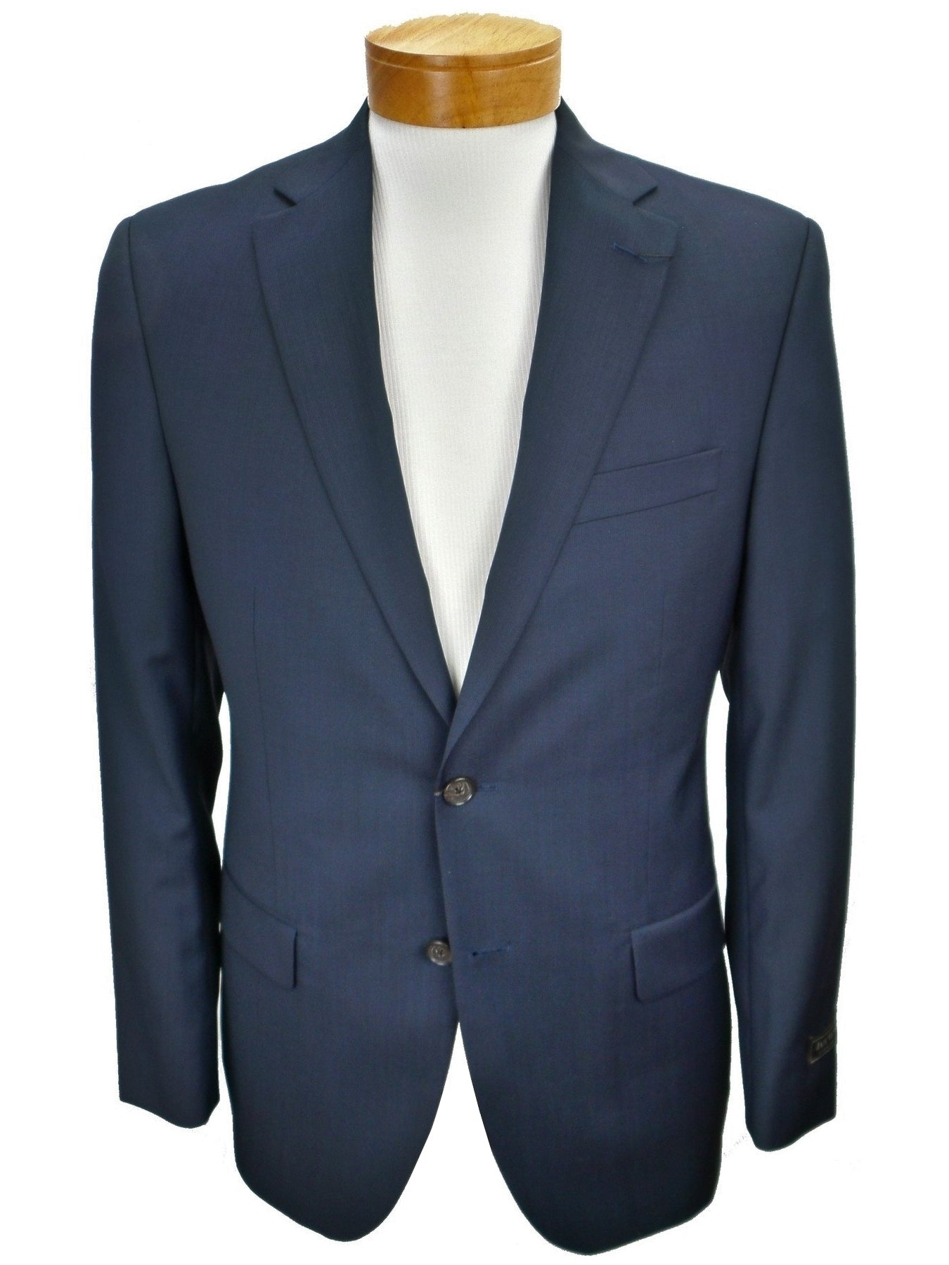 Jack Victor Conway CT Stripe Navy Suit Jacket and Dress Pants