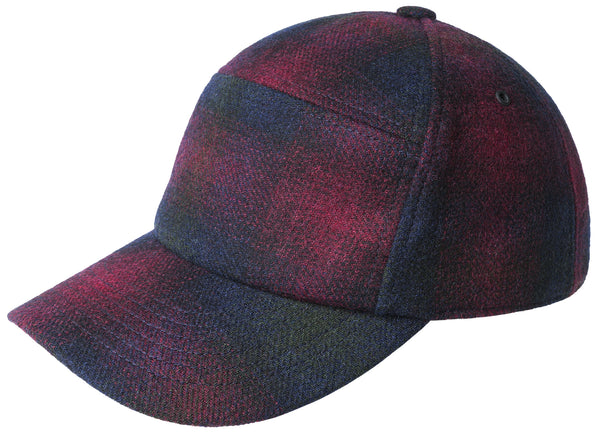 Bailey of Hollywood Bernick Plaid Wool Blend Cap