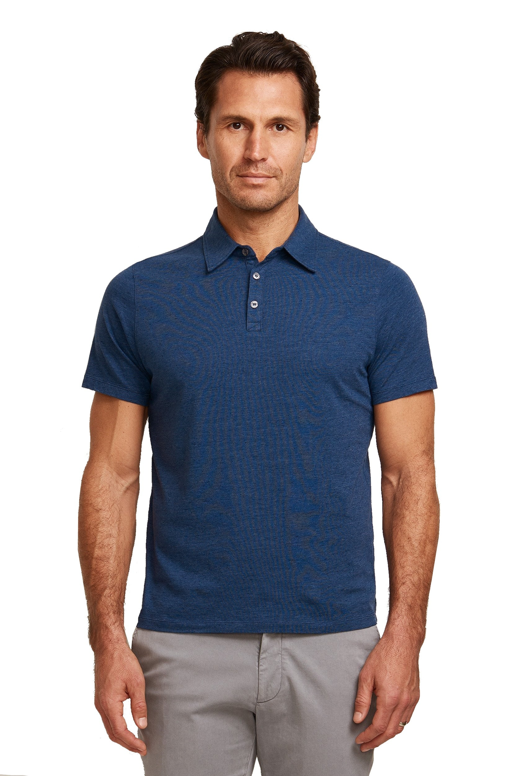 Zachary Prell Cadler Heather Knit Polo