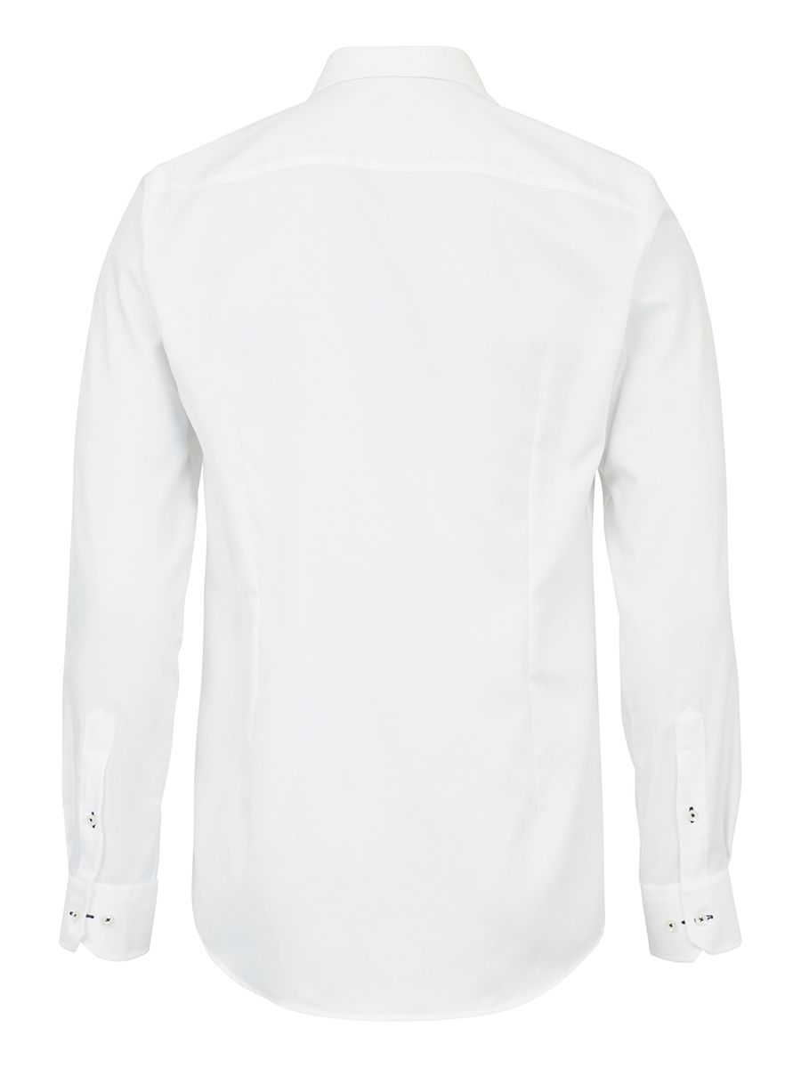 Bruun & Stengaade Ricci White Micro Texture Dress Shirt