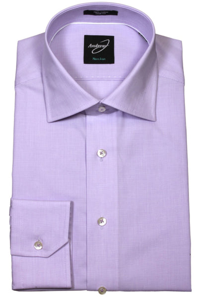 Andrew-J Easy Care Stockholm Trim Fit Shirt