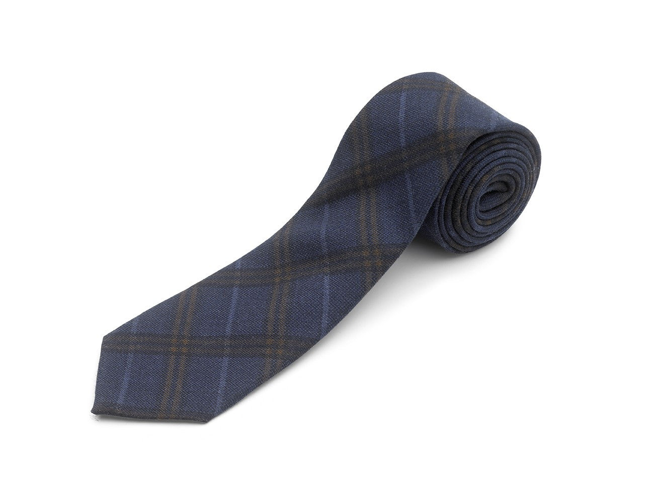 Maker & Company Made in Italy Wool Plaid Tie