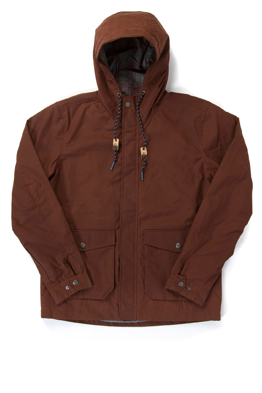 Bridge & Burn British Millerain Wax Cotton Jacket