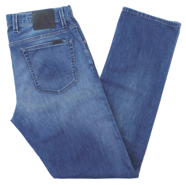 Alberto Stone 1987 Modern Fit Dynamic Superfit Denim Jeans