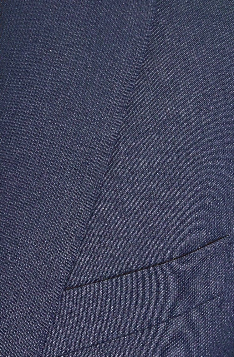 Jack Victor Conway CT Black Micro Stripe Navy Suit Jacket and Dress Pants