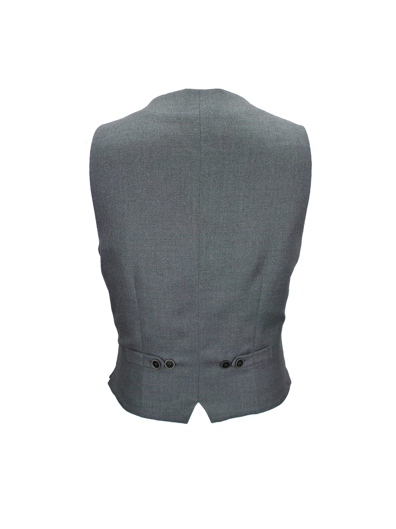 BOGA Charcoal Classic Tailored Vest